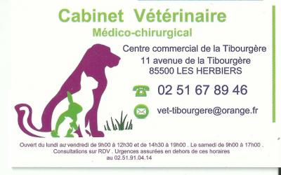 cabinet vétérinaire 85500 les herbiers